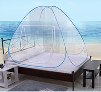 adult camp games - Brazil Olympic Games Prevent Mosquito Goods Foldable Circle Mosquito Net For Bed Camping Outdoor Baby with Auto Installation
