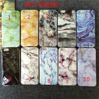 animal marbles - Fashion Cartoon Animal Marble Phone Case For iPhone S Plus s SE Soft or Hard Smooth Cover For iPhone Capa