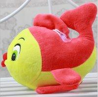 aquarium toys - High end Plush Toys with Suction Cups Hanging Kiss Cute Little Fish Goldfish Aquarium Gifts
