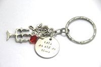 belle keychain - 12pcs Beauty and the Beastn keychain Belle Tale As Old As Time Inspired rose charm keyrings silver tone