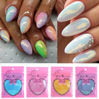 Wholesale 2016 Trend COLORS HOT Mermaid Effect Nail Glitter Nail Art Tip Decoration Magic Glimmer Powder Dust