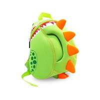 animal rucksacks - Kids Backpack Children Cute Cartoon Bag For Little Boys Girls Character Christmas Birthday Gift Green Dinosaur School Lunch Bag Rucksack