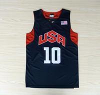 Wholesale Kobe Bryant USA Dream Team London Olympic Games Jerseys Funny Shirts S M L XL XXL