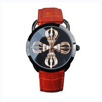 advanced life - GUOU Female Watches Wristwatches Fodiao Gender Neutral Tide Models Personalized True Leather Strap Waterproof Life Advanced Vacuum
