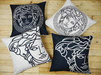 arts italy - V pillowcase Italy pillow case Italy Luxury logo art V throw pillow case pillow cover