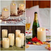 Wholesale LED Flameless Battery Operated Candles Flickering Tealight for Christmas Wedding mm