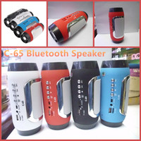 Wholesale C New Pills Bluetooth Speaker Mini Pulse Speaker Portable Active Speaker Build in Mic Handsfree Support TF USB FM For Mobile Phones