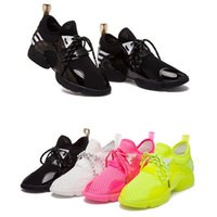 Women Mesh Rubber Cheap Breathable Women Sport Shoes Sneakers Jelly Running Shoes Fluorescent Summer Candy Color Platform Shoes for Women Ladies Black