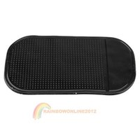 Wholesale R1B1 Black Car Anti Non Slip Glass Dash Mat Pad For iPhone G S iPod Brand New