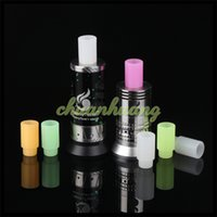 bear testing - Silicone Mouthpiece Cover Wide bore Silicon Drip Tip Disposable Colorful Rubber Test Tips Cap Atlantis Tank subtank plus Subtank Mini e cigs