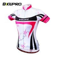 Wholesale Tour de France Cycling Bike Women Racing Riding Short Sleeve Shirt Bicycle Outdoor Sportwear Quick dry Soft Hike Ciclismo Jersey