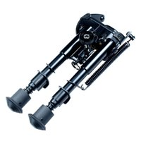 Wholesale 6 quot To quot Adjustable Spring Return Sniper Hunting Rifle Bipod Sling Swivel Mount