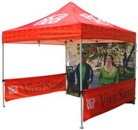 pop up gazebo - 10x10ft Pop up gazebo folding tent top printing Dye Sublimation Printing Tent Top