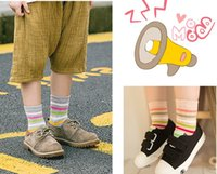 Wholesale Quality Kids socks thick years Boneless soft children socks winter stripes fashion boys girls cotton spandex socks Children gifts