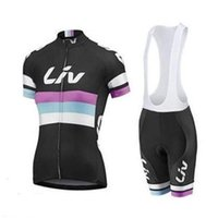 bicycle purchase - 2015 Purchase Liv Cycling Jersey Short Sleeve Cycling Jerseys Bib None Bib Mountain Bike Jerseys Top Quality Bicycle Team Liv Lady Jersey