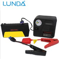 battery tire pump - LUNDA Car Jump Starter car battery Car Tire Tyre Inflator Pump Car Safety Hammer JumpStarter Set Mobile Auto emergency power