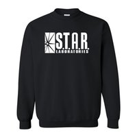 american laboratory - Autumn winter American Drama The Flash Star Laboratories sweatshirt Gotham City Comic Books TV Star Labs hoodies sweatshirts