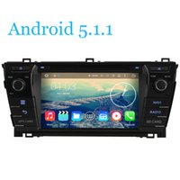Wholesale Quad Core Android Car DVD Player Quad Core HD X600 Toyota Corolla GPS Navigation RDS Radio Tape Wifi