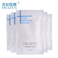 Wholesale 10g Pilaten Hair Removal Cream Painless Depilatory Cream Legs Depilation Cream For Hair Removal For Armpit Legs and Body F808