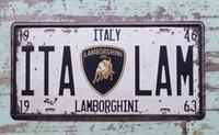 auto decor shop - Tin Sign ITA LAM Metal Decor Greasy Auto Shop Garage Poster