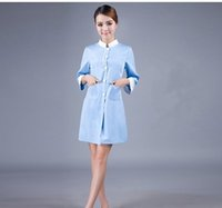 beauty salon service - Han edition salon smock qiu dong outfit beauty cosmetic medical service nurse served dental clinic