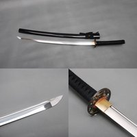 beautiful steel cans - Beautiful Home Decoration Carbon Steel Blade Vintage Samurai Sword Japanese Katana Full Tang Sharp Edge Can Cut Bamboo