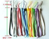 Wholesale wrist hand cell phone mobile chain straps keychain Charm Cords DIY Hang Rope Lariat Lanyard DY