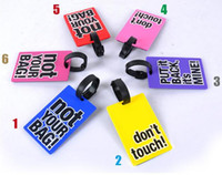 300pcs Новые прибытия Travel багажную бирку Багажная бирка портативный чемодан для путешествий Чемодан багажа ID Tag Большая сумка для путешествий аксессуары Подвеска
