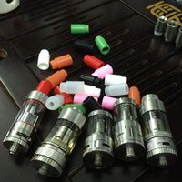 Wholesale In stock short silicone testing drip tips for electronic cigarette atomizer silicone disposable drip tip tester mouthpiece cap