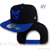 access cap - 2016 New Arrival Poke Go poké Anime Pocket Ash Ketchum Hip Hop Sun Embroidered Summer Hat Adjustable Baseball Caps Hats Fashion Access