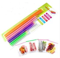 Wholesale Good Lock Magic Bag Sealer Stick Unique Sealing Rods Great Helper For Food Storage Sealing Cllip Camp Clip