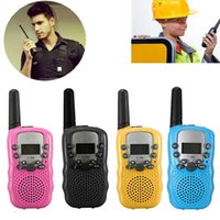 Wholesale T Dual Pair Colors Adjustable Mini Portable KM Multi Channels Way LCD UHF Car Auto Radio Wireless Travel Walkie Talkie