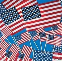 Wholesale New cm world hand waving flags bugler waving a hand waving flag the United States flags