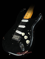 artists guitars - 10S Custom Shop Artist Series Pink Floyd David Gilmour Black Relic Electric Guitar