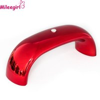 Wholesale 9W USB LED Nails Dryer Mini Portable Rainbow Shaped Lamp Nail Curing for UV Gel Nail Polish Manicure Led Lamp For Drying Nails