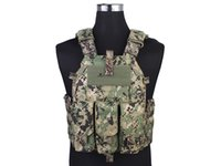 Wholesale Pouch Vest Molle Shooting Game Paintball Camouflage Army Vest Airsoft Combat K M4 Gear AOR2