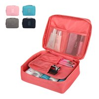 Wholesale New style Korean multifunction travel woman cosmetic bags makeup shower organizer pouch travel man toiletry storage bag