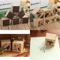 animal rubber stamps - Beautiful Design Best Price Cute DIY Retro Vintage Forest Animal Diary Album Scrapbook Wooden Rubber Stamp Good For Collection