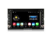 Wholesale 6 Din Quad Core Android Car DVD Player For Nissan Tiida Pathfinder Juke Qashqai Almera X trail Note Primera