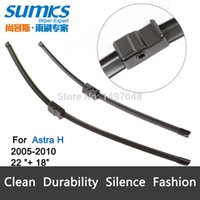 Wholesale Wiper blades for Opel Astra H quot quot fit side pin type wiper arms only HY B
