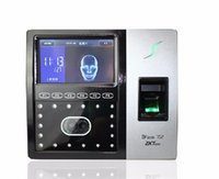 Wholesale Good quality ZK facial sensor time and access controller iface702 face finger wireless GPRS and TCP IP face and fingerprint time machine