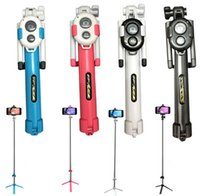 aluminum alloy offers - Non slip Super Bluetooth control selfie stick with tripod Handheld Extendable Monopod Built in Bluetooth Shutter New offer