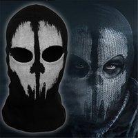 Wholesale Full Face Skull Ghost Mask Balaclava Ultra thin Motorcycle Cycling Ski Protect