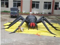 Wholesale 30ft Inflatable Spider Halloween Holiday Decoration with Blower
