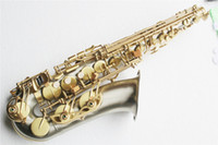 Wholesale Alto Saxophone with Body Gold Lacquer Surface Cupronickel Material and Eb Tone and Can be Customized