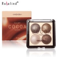 baking cocoa - Rosalind Eye Shadow Palette in Shimmer Metallic Colors Baked Eyeshadow Brand COCOA
