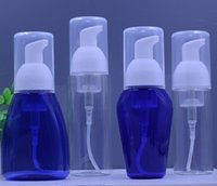 al por mayor bombas de distribución de jabón de plástico-Al por mayor-5 piezas de plástico vacía que hace espuma de jabón de mano dispensador Claro bomba de espuma Botella 50ml
