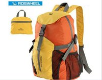 backpack fishing gear - Roswheel ultralight mountain bike outdoor cycling knapsack bicycle backpack backpack portable folding bike gear