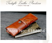 Wholesale 2pcs new Europe style Pencil case stationery case pencil case leather cosmetic bag