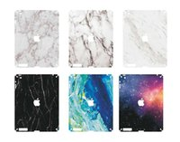 Wholesale Fashion New Design Laptop Marble Style for iPad Protector Macbook front side Cover